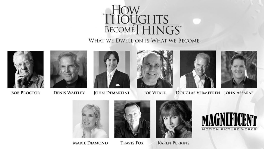 How Thoughts Become Things Cast