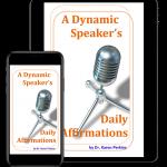 Speaker Affirmations Phone & Tablet
